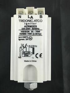 TRIDONIC.ATCO AZRM2ES Standard superimposed-pulse Ignitor  240V 1Bmax. 2A 70W