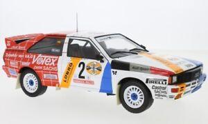 Audi quattro, No.2, Schmidt Motorsport, Rallye DM, Rally Hunsrück, 1:18, IXO