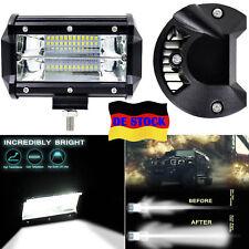 72W LED Arbeitsscheinwerfer SUV ATV UTE Pickup 12V Offroad Lichter Lichtbalken