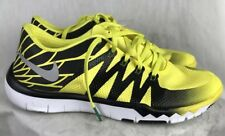 Nike Free Run Oregon Duck PE Mens 9D Running Training Yellow Shoes