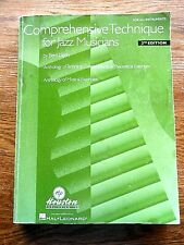 Comprehensive Technique for Jazz Musicians 2nd Edition For All Instruments
