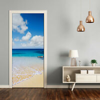 Home Mural Door Wall Self Adhesive Removable Sticker Landscapes Tropical beach