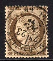 France 30 Cent Stamp c1871-76 Fine Used (3920)