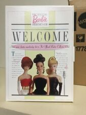 """Mattel """"Welcome"""" Charter Membership Kit To Official Barbie Collector's Club NRFB"""