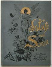 In Luft und Sonne, Künstleralbum 1888, Autographen