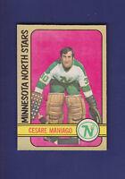 Cesare Maniago 1972-73 O-PEE-CHEE Hockey #138 (NM)