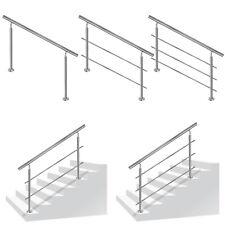 Geländer Edelstahl Treppengeländer Handlauf Brüstung Treppe Bausatz mit Querstab