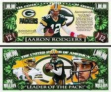 Aaron Rodgers Novelty  Bill with Protector and Free shipping