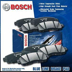 8 Pcs Bosch Front + Rear Brake Pads for Subaru Forester SG Impreza GD GG 2.5 2.0