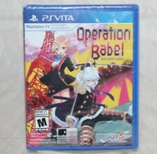 Operation Babel: New Tokyo Legacy (Sony PlayStation Vita, 2017) Brand New Sealed