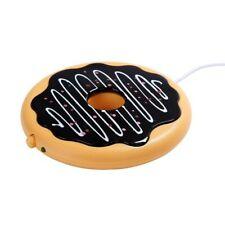 Cup Warmer Mug Coffee Tea Mat Milk Office Usb Heater Donuts Beverage Coaster Pad