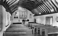 uk911 st swithuns church winchester  real photo   uk