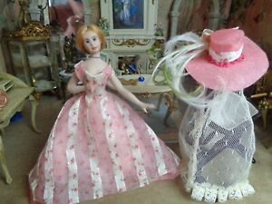 Miniature dollhouse doll by Barb Markus