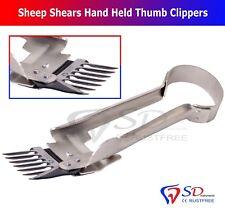 Sheep Shears Hand Held Thumb Clippers Shears - Lamb VETERINARY U.K NEW CE