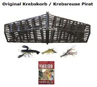 1 Orig. Pirat Krebskorb Krebskörbe Krebsreuse Krebsreusen Reuse fish trap Haribo
