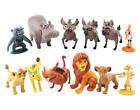12Pcs The Lion King Simba Nala Timon Pumbaa Action Figures Toy Model Cake Topper