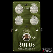 NEW SUHR EFFECTS RUFUS RELOADED OCTAVE GUITAR FUZZ PEDAL VINTAGE & MODERN TONE