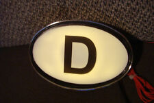 Olthimer D - Schild beleuchtet, für alle  Oldtimer wie VW, Opel u.s.w.