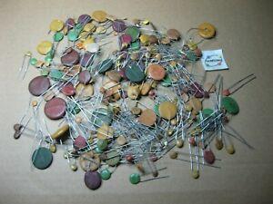 Assorted Ceramic Disc Capacitor Grab-Bag - NOS Mixed Lot