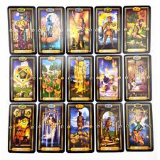 TAROT DECK 78 Tarot Karten + TASCHE Englisch Card Deck Occult Major Minor Arcana