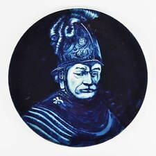 Royal Goedewaagen Blue Delfts Holland - Teller - man met gouden helm - Rembrandt