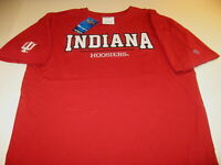 Indiana University Hoosiers Embroidered Champion Authentic T-Shirt New NWT LARGE