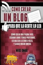 The Make Money from Home Lions Club: Como Crear un Blog para Que la Gente lo...