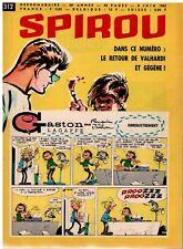 ▬► Spirou Hebdo n°1312 du 6 Juin 1963 - COMPLET AVEC mini-récit