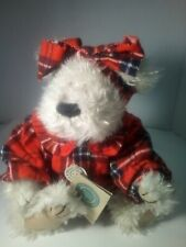 """Handmade Collectable Boyds Bears 17"""" Plush Bear In Pajamas - Musicbox Lullaby"""