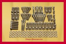 HARLEY DAVIDSON V-Rod v2a in Acciaio Inox Set di viti VITI MOTORE-KIT 140 pezzi