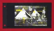 Isle of Man Centenary of Scouting Minature Sheet - Issue Date 22/02/2007