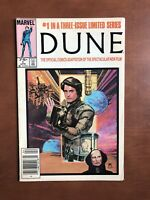 Dune #1 (1985) 7.5 VF Marvel Key Issue Comic Book Movie Adaption Newsstand