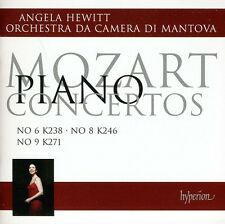 Angela Hewitt, W.a. Mozart - Piano Ctos 6 & 8 & 9 [New CD]