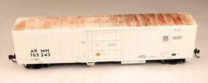 Athearn 56' Refrigerated Reefer ARMN #76524 Weathered 1/87 HO Scale