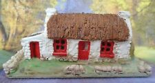Thatched Farmhouse Figurine MAC RI Type #1 Miniatures Handcrafted in Ireland