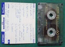 MC Musicassetta TDK FE FERRIC 60 vintage compact cassette audiotape USATA