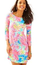 NWT Lilly Pulitzer UPF 50+ Sophie Dress Multi Palm Beach Coral Size XS