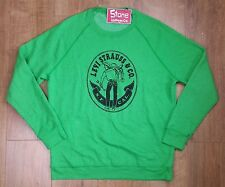 Levis Vintage Clothing LVC 1970 S Maglione Verde Maglione £ 119 MADE IN USA NUOVO USA