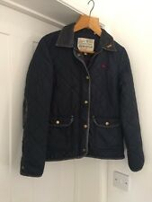 Jack Wills Cordings Ladies Quilted Jacket Coat Size 12