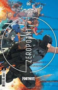 BATMAN FORTNITE ZERO POINT #4 INCLUDES GAME CODE - 1ST PRINT (02/06/2021)