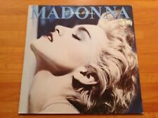 MADONNA - 1986 Vinyl 33rpm LP - TRUE BLUE