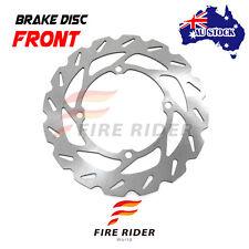 AU Front MX Brake Disc Rotor For SUZUKI RMZ 450 05-16 06 07 08 09 10 11 12