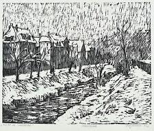 Ulrich giovanotto-inverno in Triebischtal-legno di sezione 1985