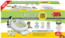 New listing 1 Ltr Litter Box System Breeze System Starter Kit Litter Box Litter Pellet Pad