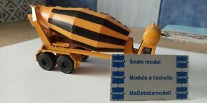 CONRAD 1/50 remorque trailer toupie malaxeur no truck camion LKW liebherr tekno