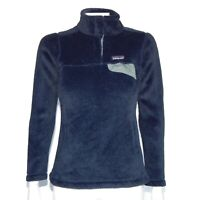 Patagonia Women's Snap-T Winter Blue Fleece Pullover Jacket size XS / 226