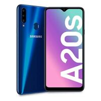 "NEW Samsung Galaxy A20s 32GB Dual Sim UNLOCKED 2019 4G LTE 6.5"" BLUE WARRANTY"