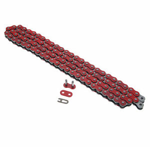 2009-2015 Yamaha YZ250F 250F Red Non O Ring Chain 520X114L