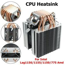 6 Pipes Computer CPU Cooler Fan Heatsink For Intel LAG 1156/1155/1150/775 Amd