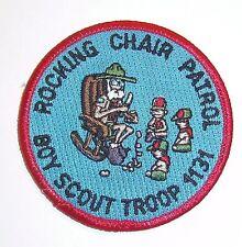 Rocking Chair Patrol PAtch Mint MH5